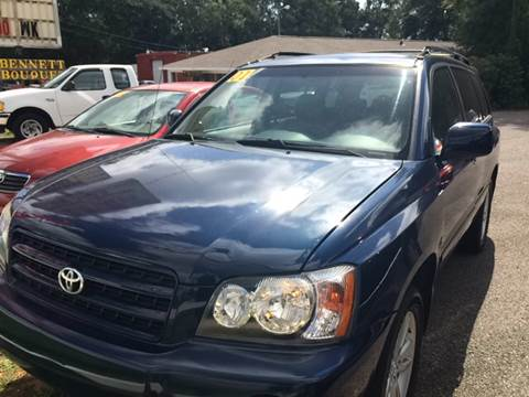 2001 Toyota Highlander for sale in Mobile, AL