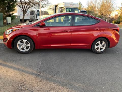 2014 Hyundai Elantra for sale at Dreams Auto Group LLC in Sterling VA