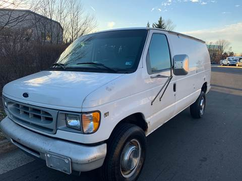 2002 Ford E-Series Cargo for sale at Dreams Auto Group LLC in Sterling VA