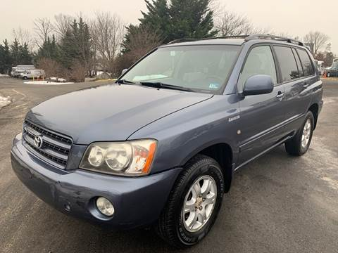 2003 Toyota Highlander for sale at Dreams Auto Group LLC in Sterling VA