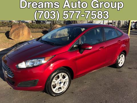 2014 Ford Fiesta for sale at Dreams Auto Group LLC in Sterling VA