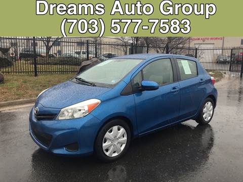 2012 Toyota Yaris for sale at Dreams Auto Group LLC in Sterling VA