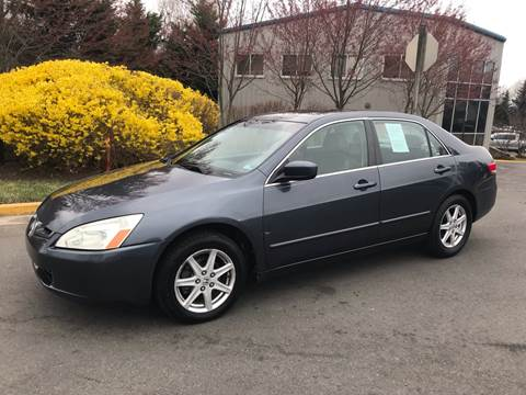2003 Honda Accord for sale at Dreams Auto Group LLC in Sterling VA