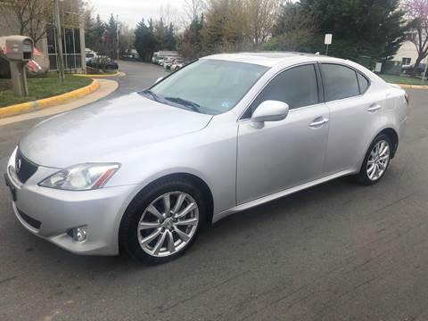 2007 Lexus IS 250 for sale at Dreams Auto Group LLC in Sterling VA