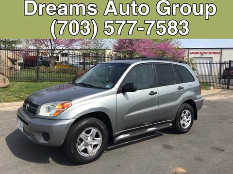 2004 Toyota RAV4 for sale at Dreams Auto Group LLC in Sterling VA