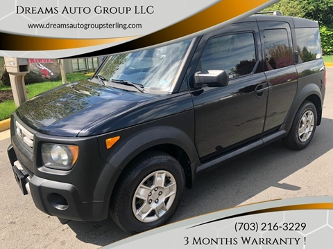 2008 Honda Element for sale at Dreams Auto Group LLC in Sterling VA