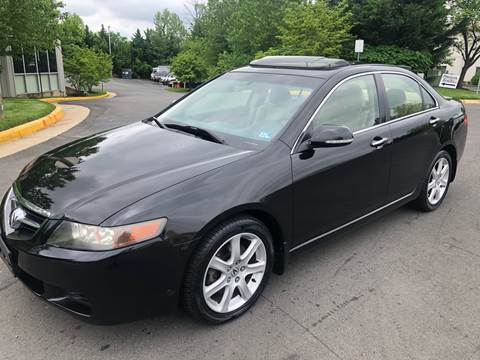 2004 Acura TSX for sale at Dreams Auto Group LLC in Sterling VA