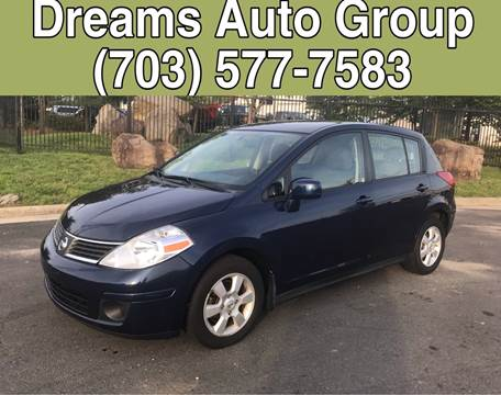 2007 Nissan Versa for sale at Dreams Auto Group LLC in Sterling VA