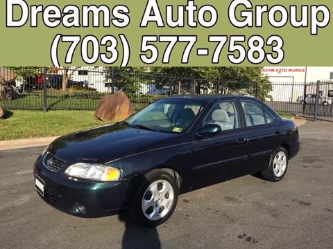2003 Nissan Sentra for sale at Dreams Auto Group LLC in Sterling VA