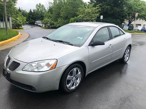 2007 Pontiac G6 for sale at Dreams Auto Group LLC in Sterling VA