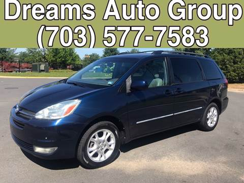 2004 Toyota Sienna for sale at Dreams Auto Group LLC in Sterling VA