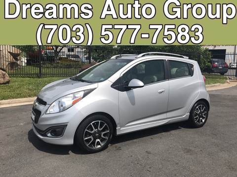 2013 Chevrolet Spark for sale at Dreams Auto Group LLC in Sterling VA
