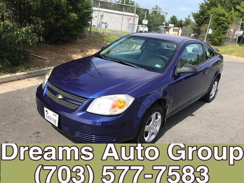 2007 Chevrolet Cobalt for sale at Dreams Auto Group LLC in Sterling VA