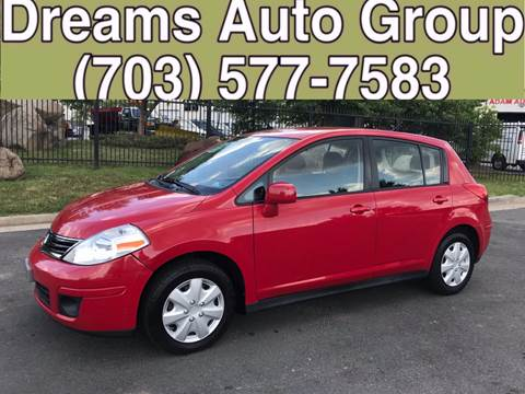 2011 Nissan Versa for sale at Dreams Auto Group LLC in Sterling VA