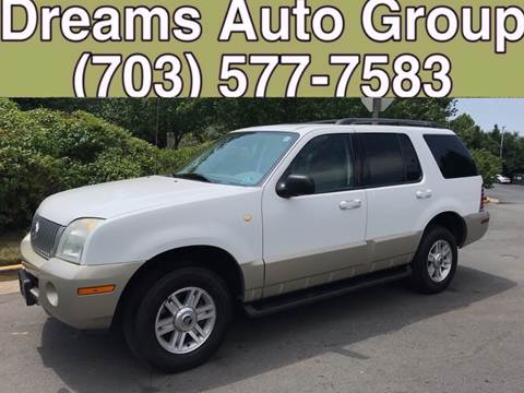 2004 Mercury Mountaineer for sale at Dreams Auto Group LLC in Sterling VA