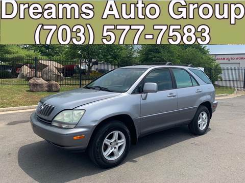 2003 Lexus RX 300 for sale at Dreams Auto Group LLC in Sterling VA