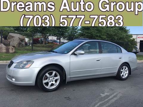 2006 Nissan Altima for sale at Dreams Auto Group LLC in Sterling VA