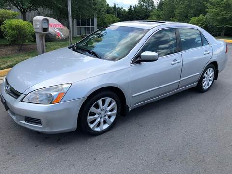 2006 Honda Accord for sale at Dreams Auto Group LLC in Sterling VA