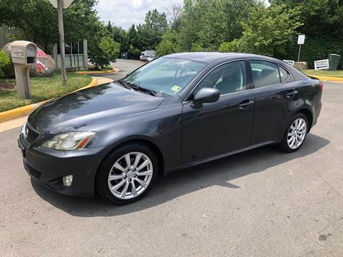 2006 Lexus IS 250 for sale at Dreams Auto Group LLC in Sterling VA