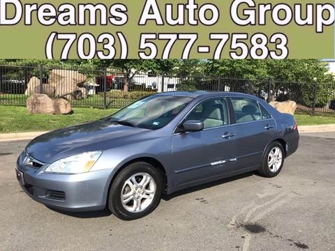 2007 Honda Accord for sale at Dreams Auto Group LLC in Sterling VA