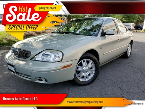 2005 Mercury Sable for sale at Dreams Auto Group LLC in Sterling VA