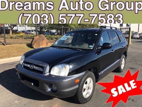 2006 Hyundai Santa Fe for sale at Dreams Auto Group LLC in Sterling VA