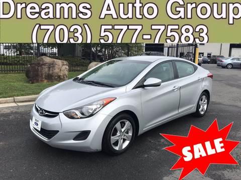 2011 Hyundai Elantra for sale at Dreams Auto Group LLC in Sterling VA