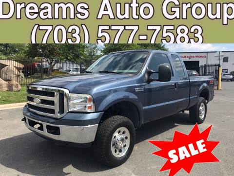 2005 Ford F-250 Super Duty for sale at Dreams Auto Group LLC in Sterling VA
