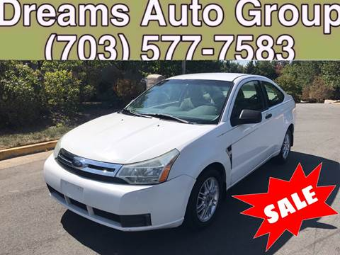 2008 Ford Focus for sale at Dreams Auto Group LLC in Sterling VA