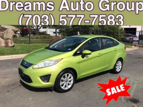 2011 Ford Fiesta for sale at Dreams Auto Group LLC in Sterling VA