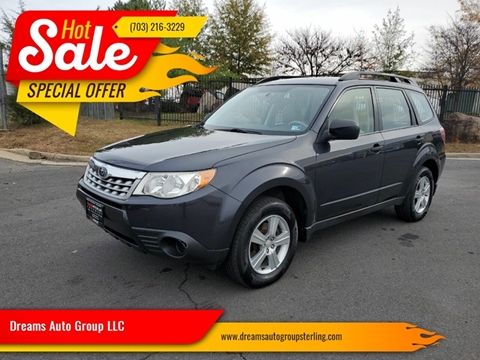 2012 Subaru Forester for sale at Dreams Auto Group LLC in Sterling VA