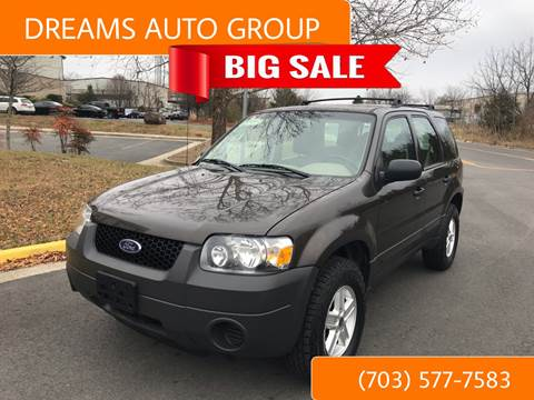 2007 Ford Escape for sale at Dreams Auto Group LLC in Sterling VA