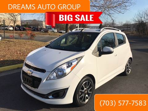 2015 Chevrolet Spark for sale at Dreams Auto Group LLC in Sterling VA