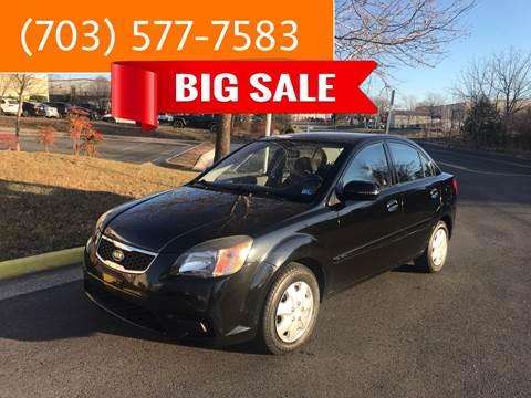 2010 Kia Rio for sale at Dreams Auto Group LLC in Sterling VA