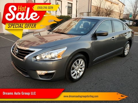 2014 Nissan Altima for sale at Dreams Auto Group LLC in Sterling VA