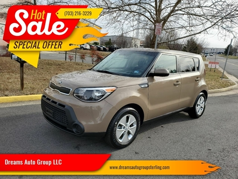 2015 Kia Soul for sale at Dreams Auto Group LLC in Sterling VA
