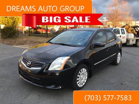 2012 Nissan Sentra for sale at Dreams Auto Group LLC in Sterling VA