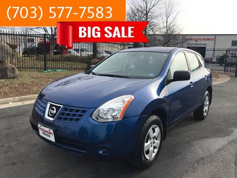 2009 Nissan Rogue for sale at Dreams Auto Group LLC in Sterling VA