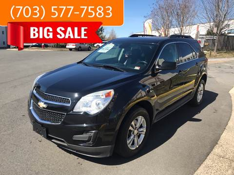 2014 Chevrolet Equinox for sale at Dreams Auto Group LLC in Sterling VA