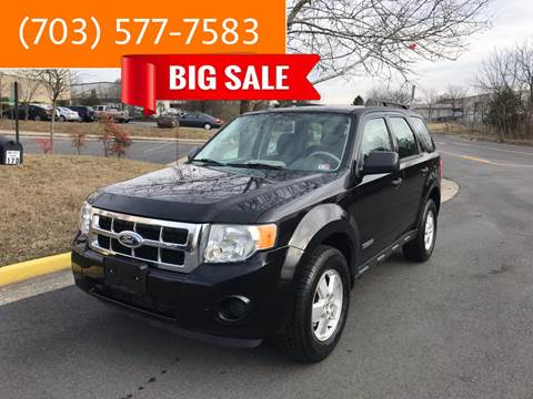 2008 Ford Escape for sale at Dreams Auto Group LLC in Sterling VA