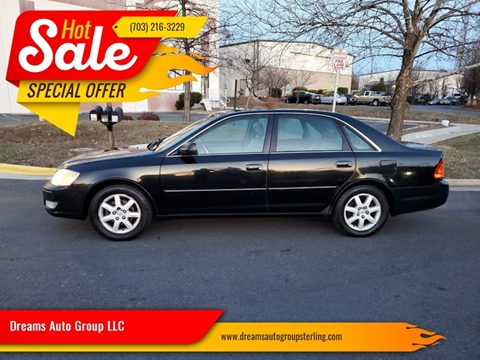 2002 Toyota Avalon for sale at Dreams Auto Group LLC in Sterling VA