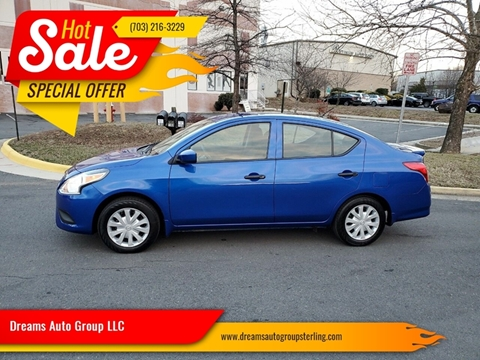 2016 Nissan Versa for sale at Dreams Auto Group LLC in Sterling VA
