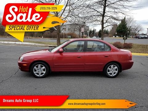 2004 Hyundai Elantra for sale at Dreams Auto Group LLC in Sterling VA
