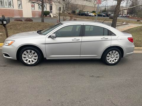 2012 Chrysler 200 for sale at Dreams Auto Group LLC in Sterling VA