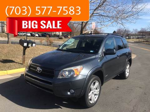 2008 Toyota RAV4 for sale at Dreams Auto Group LLC in Sterling VA