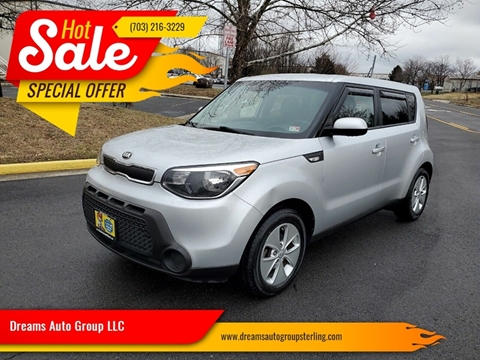 2014 Kia Soul for sale at Dreams Auto Group LLC in Sterling VA