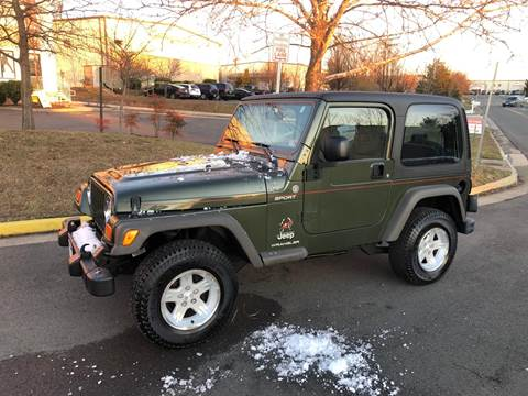 1998 Jeep Wrangler for sale at Dreams Auto Group LLC in Sterling VA