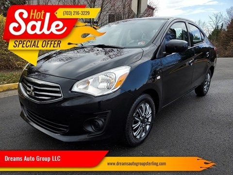 2017 Mitsubishi Mirage G4 for sale at Dreams Auto Group LLC in Sterling VA