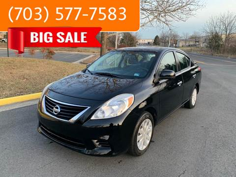 2013 Nissan Versa for sale at Dreams Auto Group LLC in Sterling VA