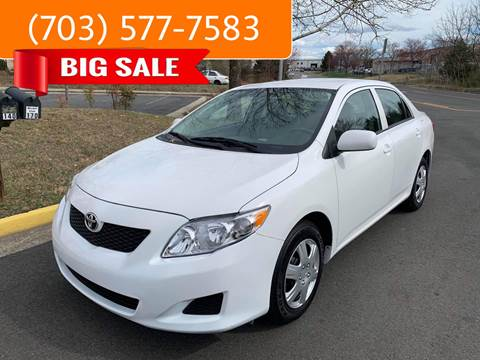 2010 Toyota Corolla for sale at Dreams Auto Group LLC in Sterling VA
